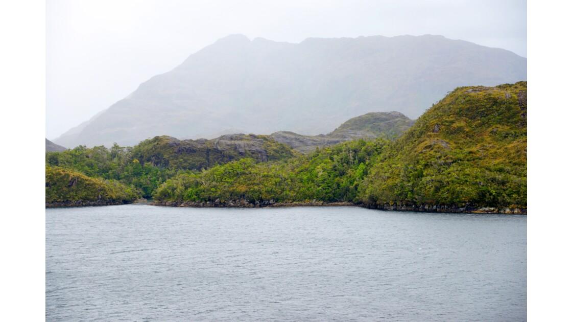 Les fjords chiliens du détroit de Magellan