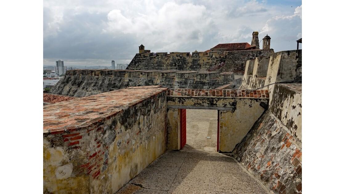 Colombie Cartagena Castillo de San Felipe 7