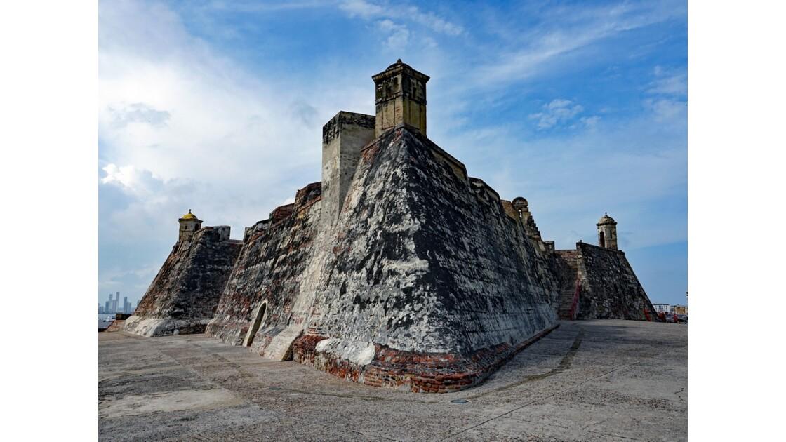 Colombie Cartagena Castillo de San Felipe 1