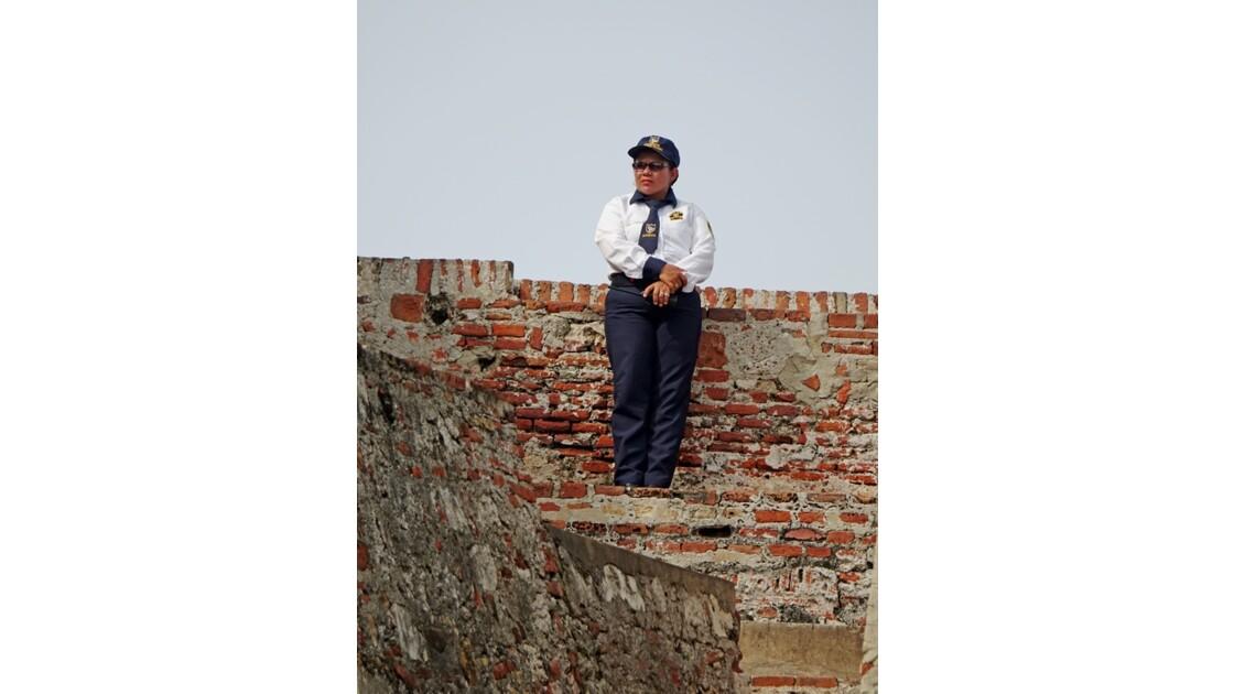 Colombie Cartagena Castillo de San Felipe 4