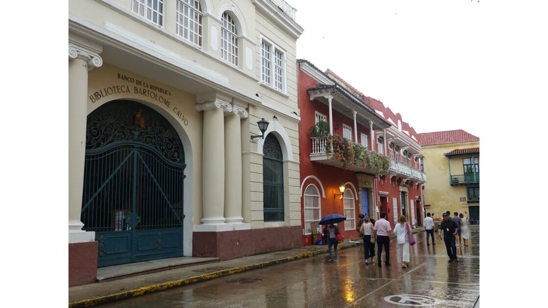 Colombie Cartagena sous la pluie 2