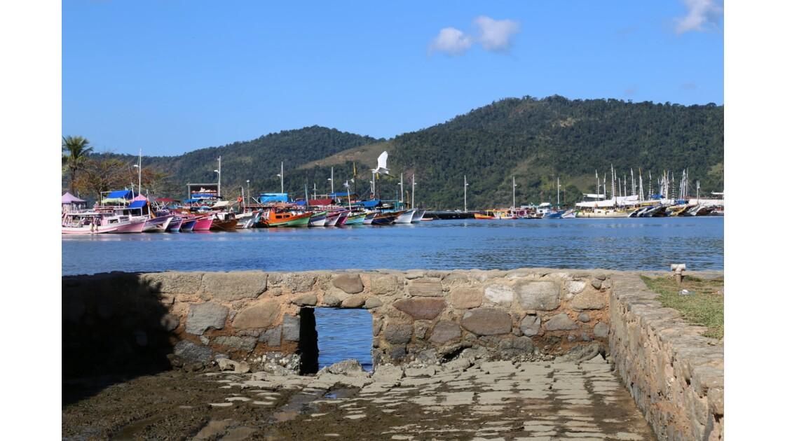 PARATY le port dernières photos en 2 temps
