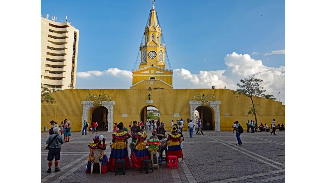 Colombie Cartagena Puerta del Reloj 4