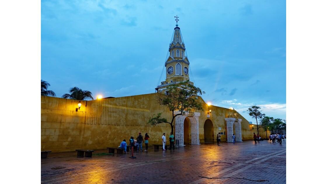 Colombie Cartagena Un soir Puerta del Reloj