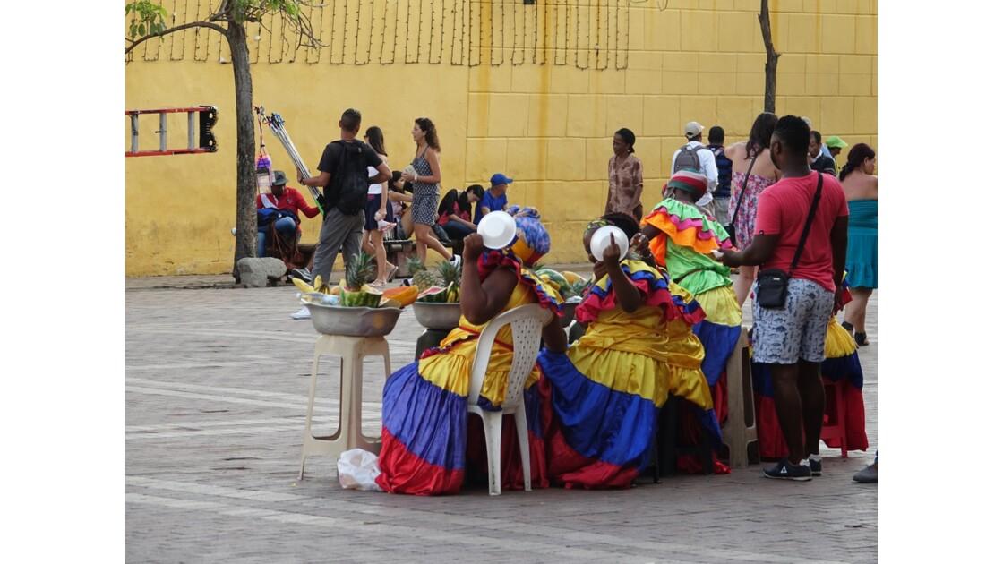 Colombie Cartagena Plaza de los Coches 2