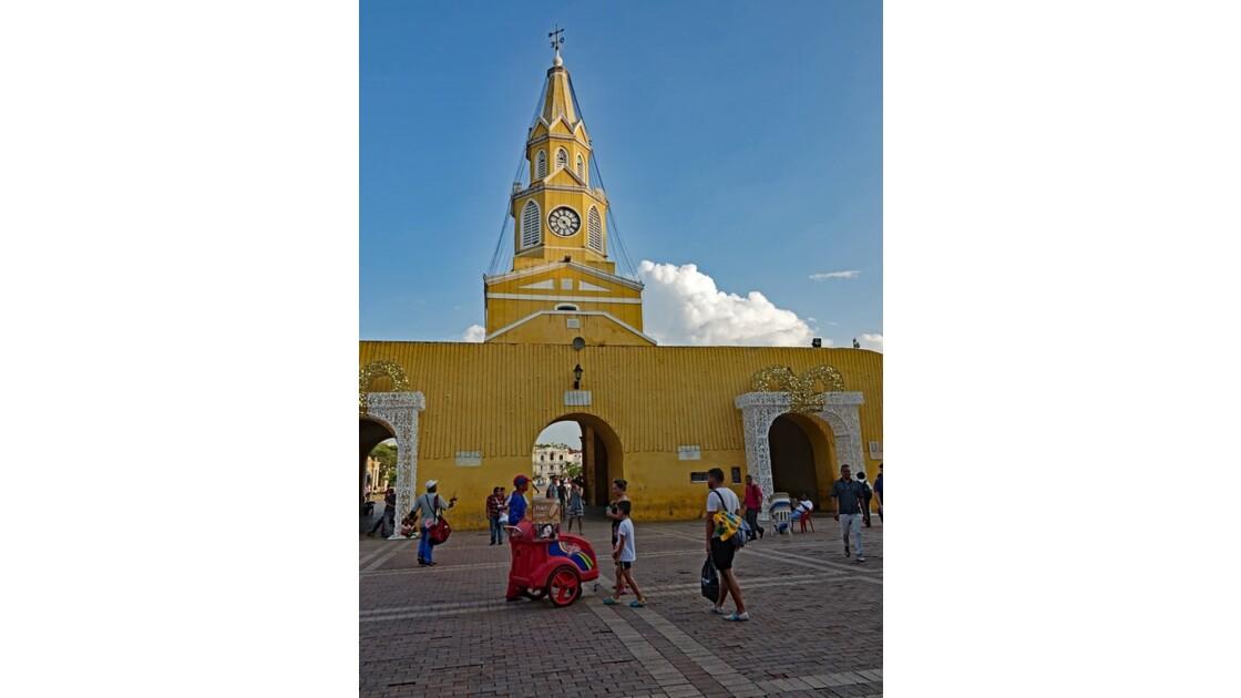 Colombie Cartagena Puerta del Reloj 2