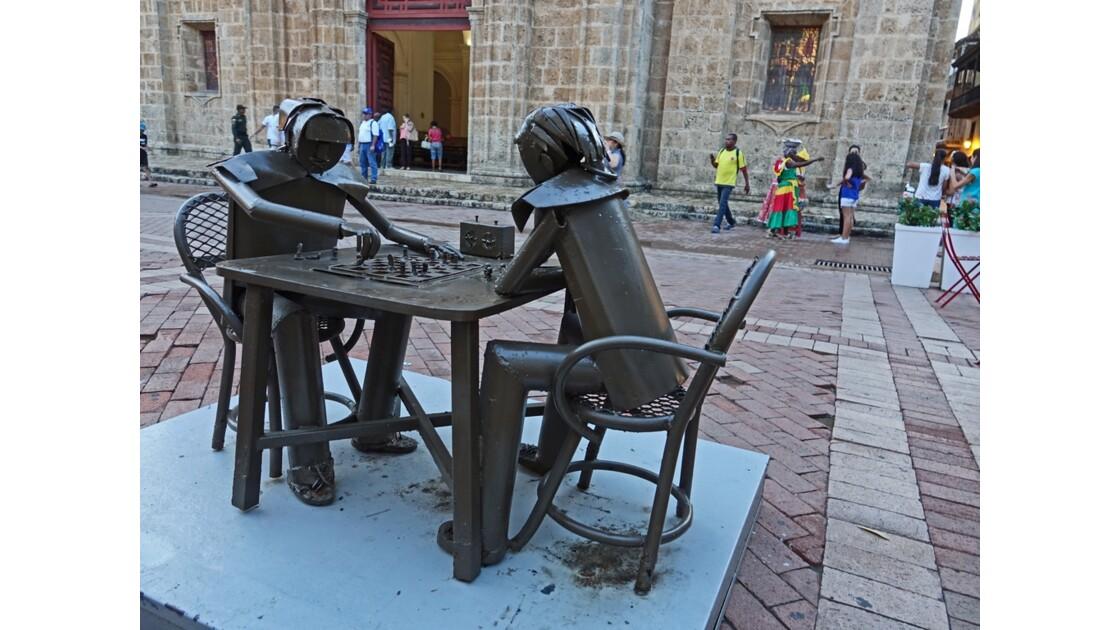 Colombie Cartagena Plaza de San Pedro Claver 3