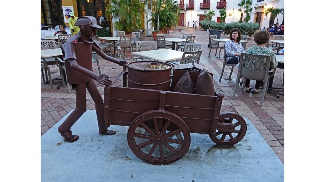 Colombie Cartagena Plaza de San Pedro Claver 4
