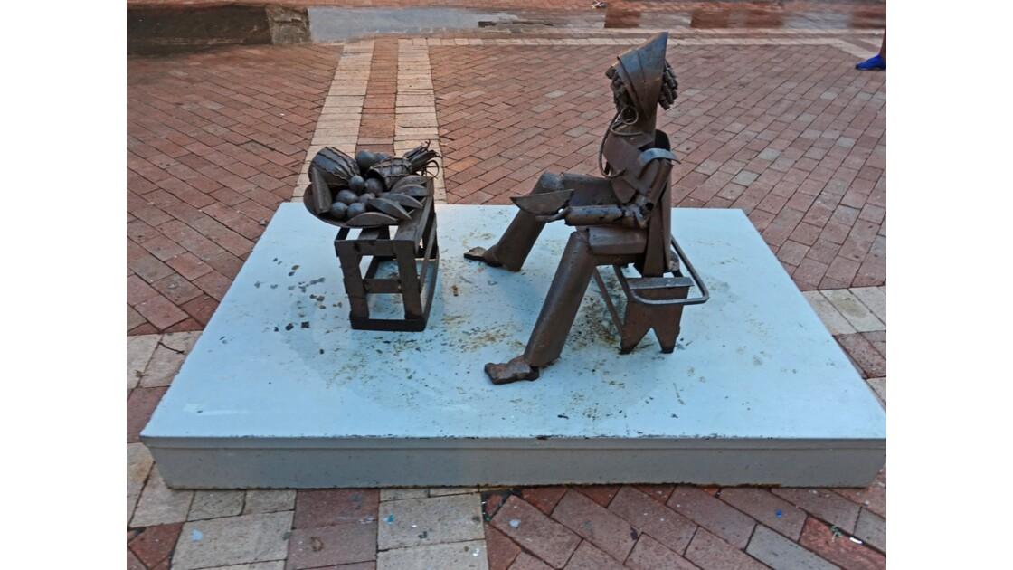 Colombie Cartagena Plaza de San Pedro Claver 7