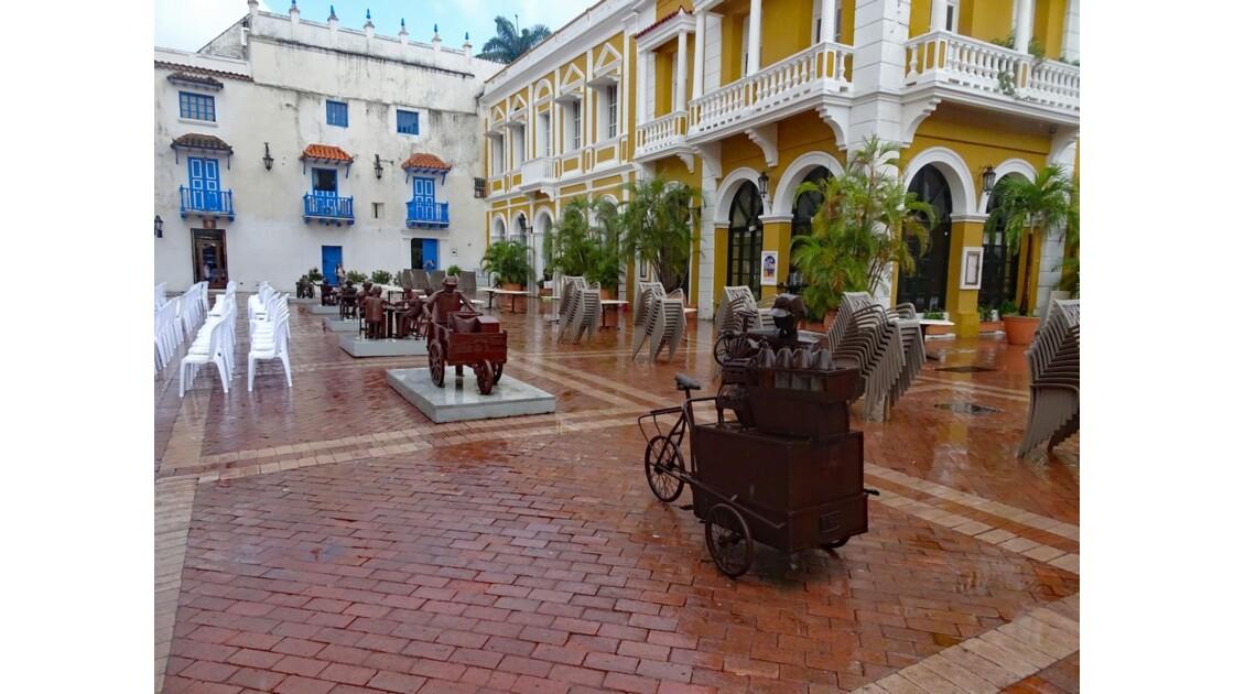 Colombie Cartagena Plaza de San Pedro Claver 9