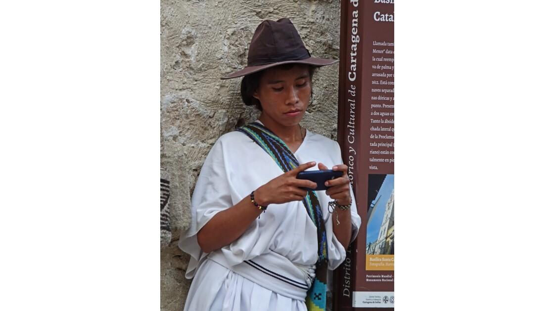 Colombie Cartagena indien Arhuaco 1