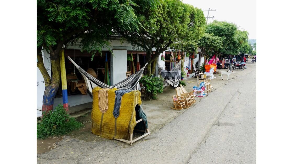 Colombie Les hamacs de Jacinto 4