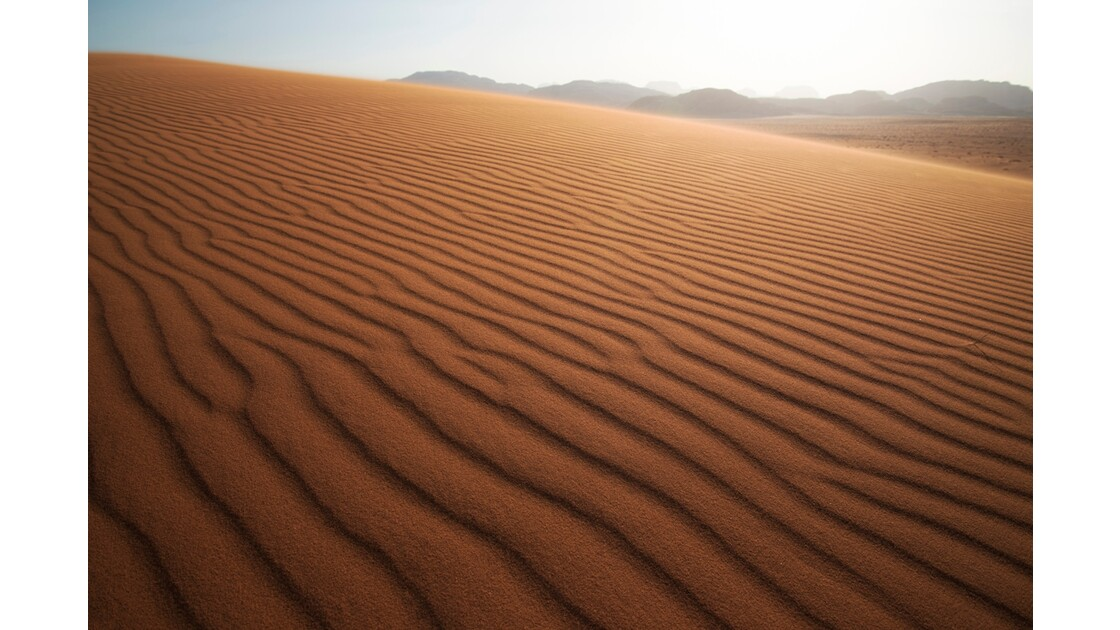 Dune in Wadi-Rum
