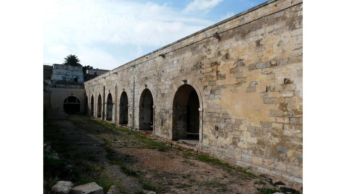 Le vieux quartier à Oran