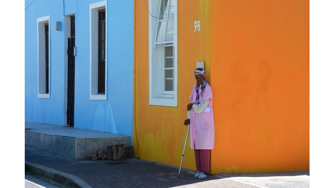 Portraits ville du Cap Afrique du sud