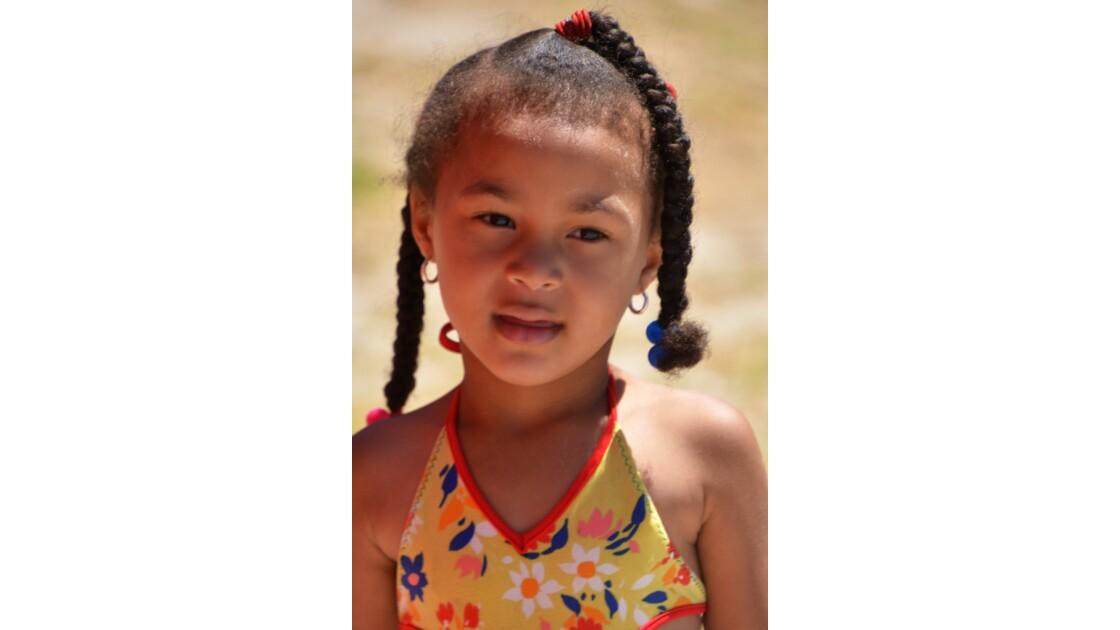 portrait fillette Afrique du sud