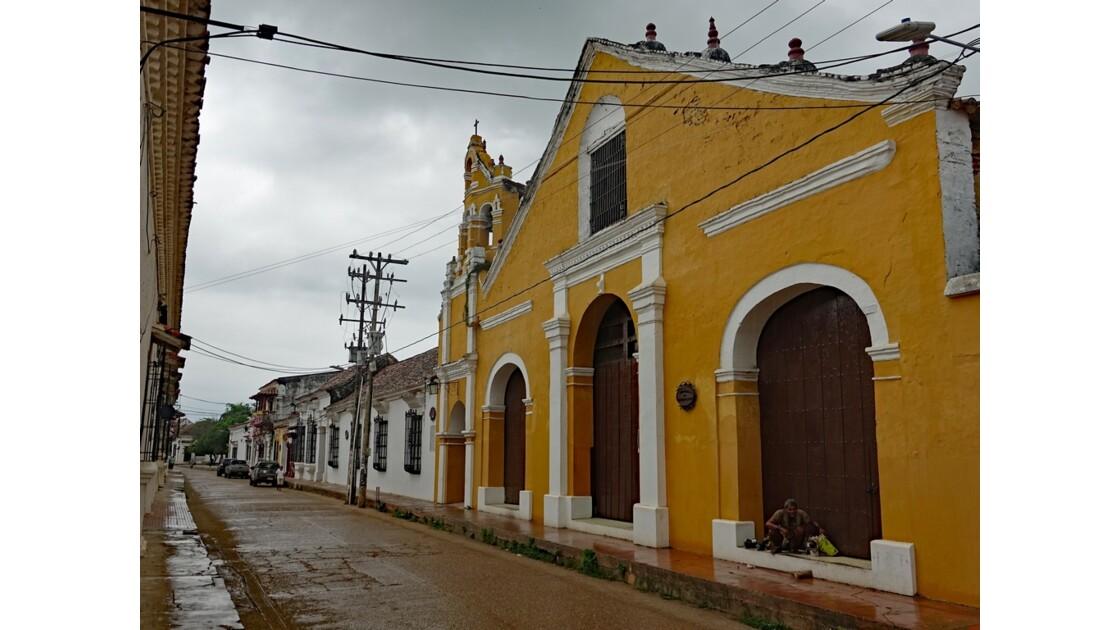 Colombie Mompox sous l'orage