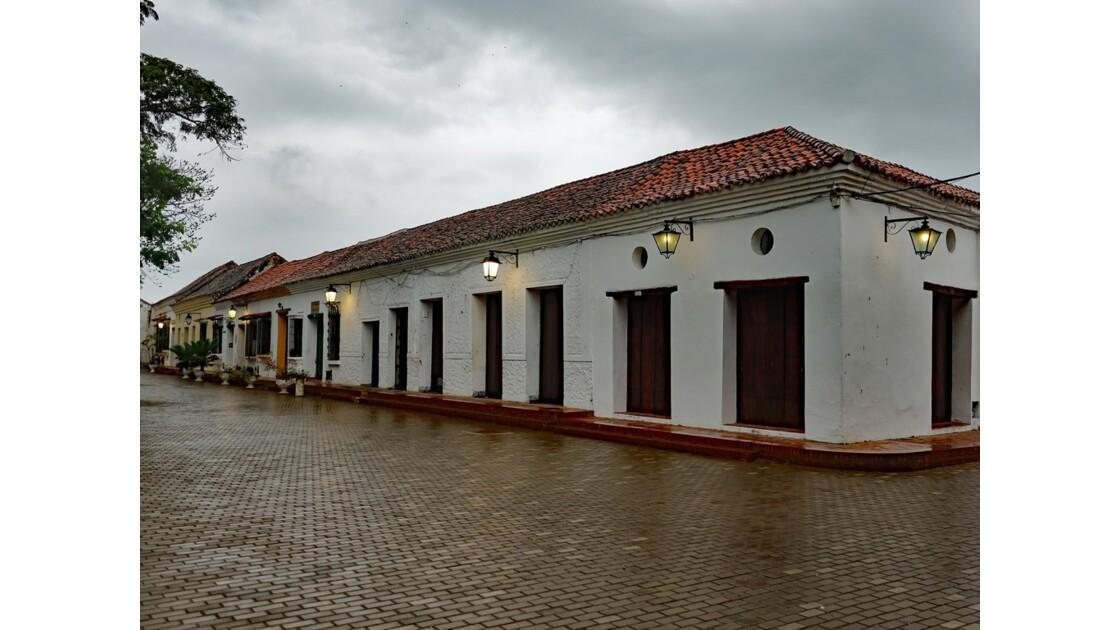 Colombie Mompox sous l'orage Calle del Medio 3