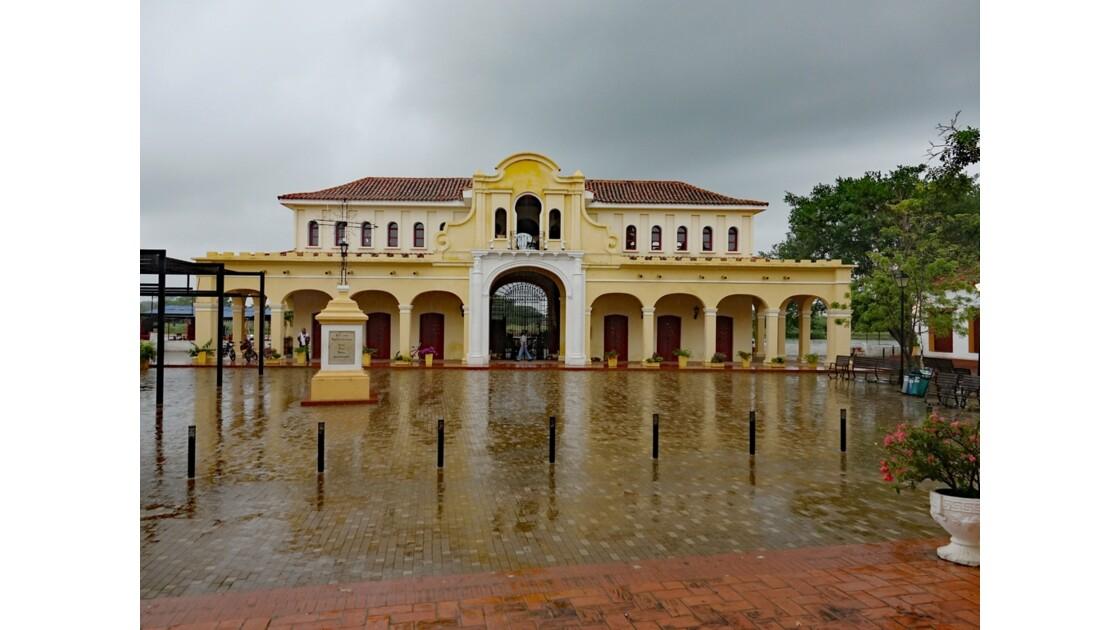 Colombie Mompox sous l'orage Le marché