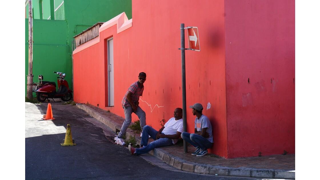Quartier de Bo Kaap Capetown