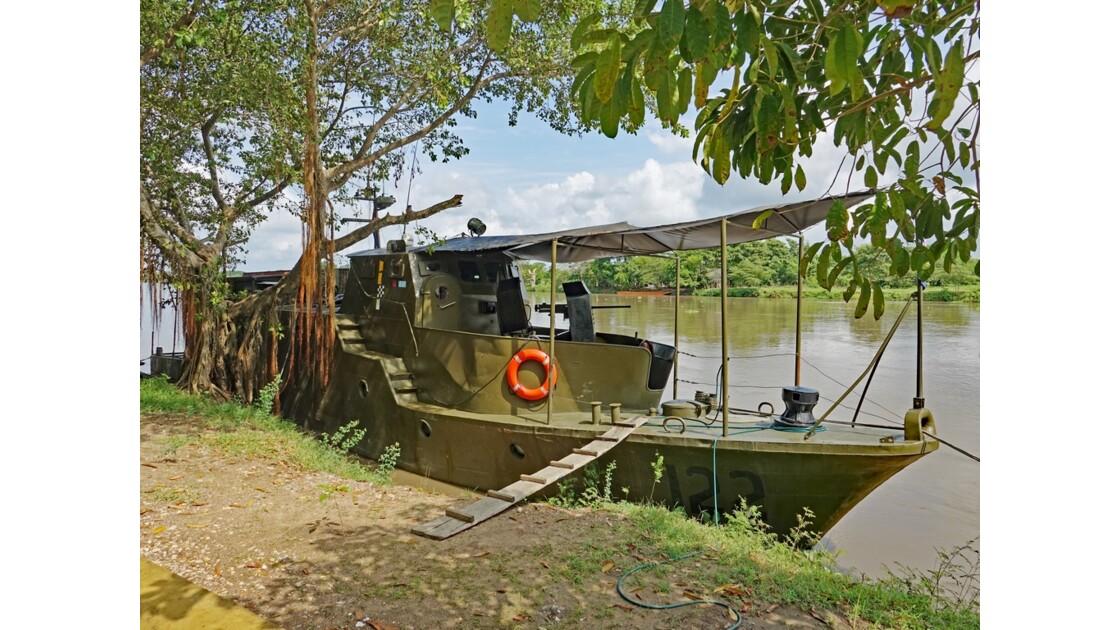 Colombie  Marine nationale à Mompox 1