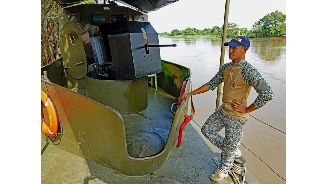 Colombie  Marine nationale à Mompox 2