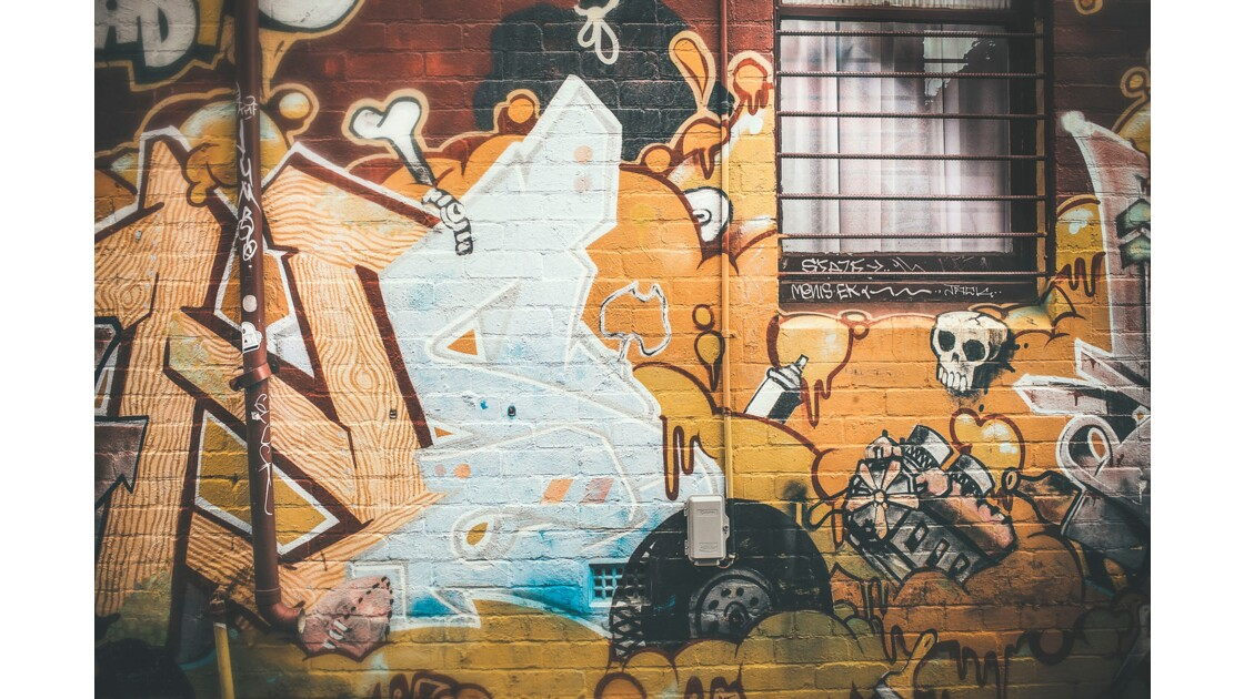 Melbourne capital city of street art