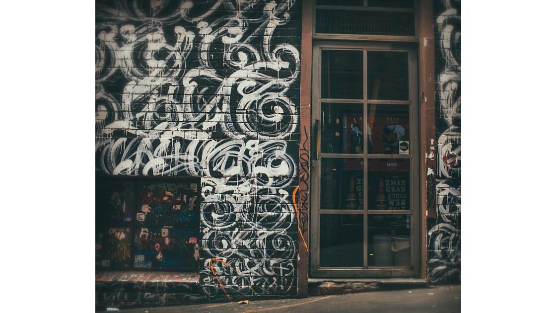 Melbourne capital city of street art