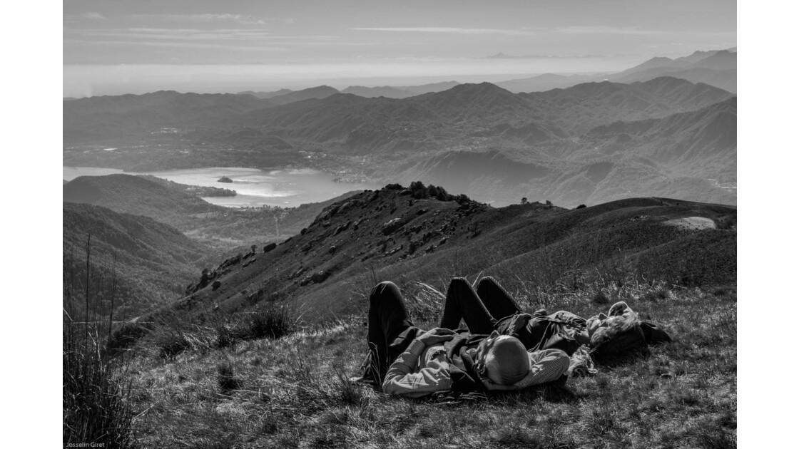 Une sieste au Mottarone