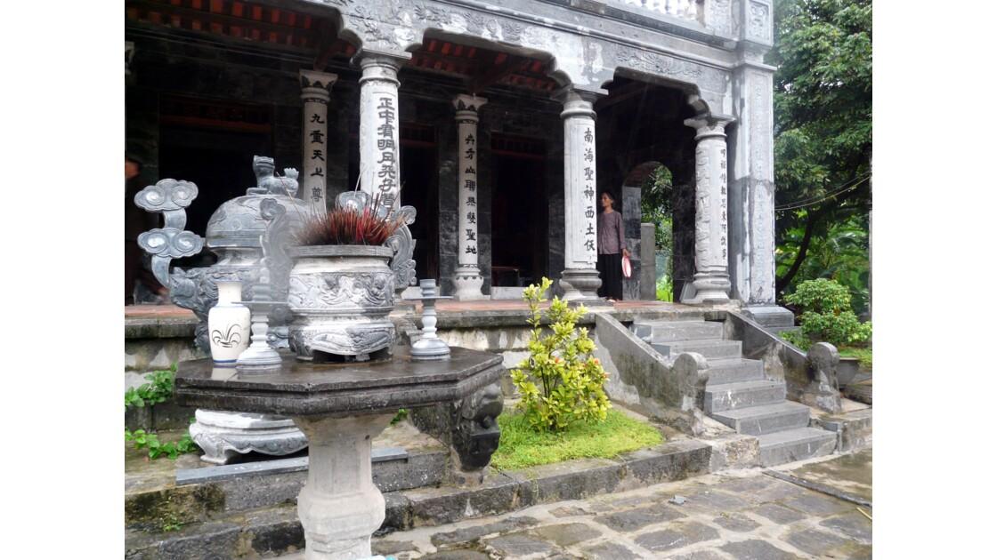 Temple de Thai Vi à Tam Coc