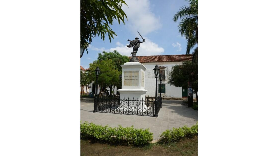 Colombie Mompox  Plaza de la Libertad 1