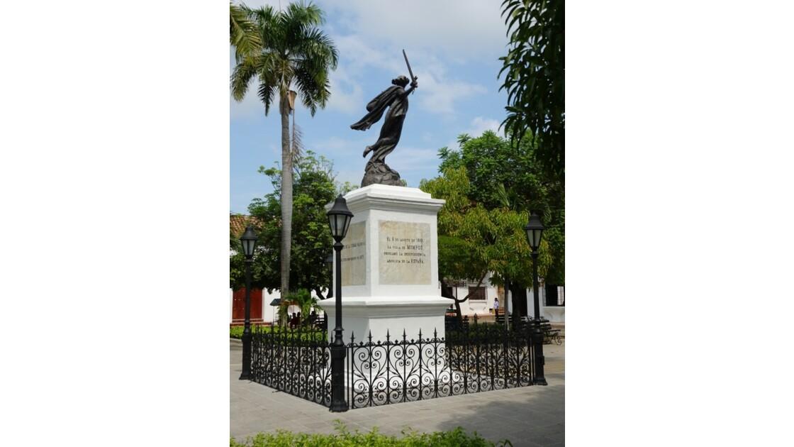 Colombie Mompox  Plaza de la Libertad 4