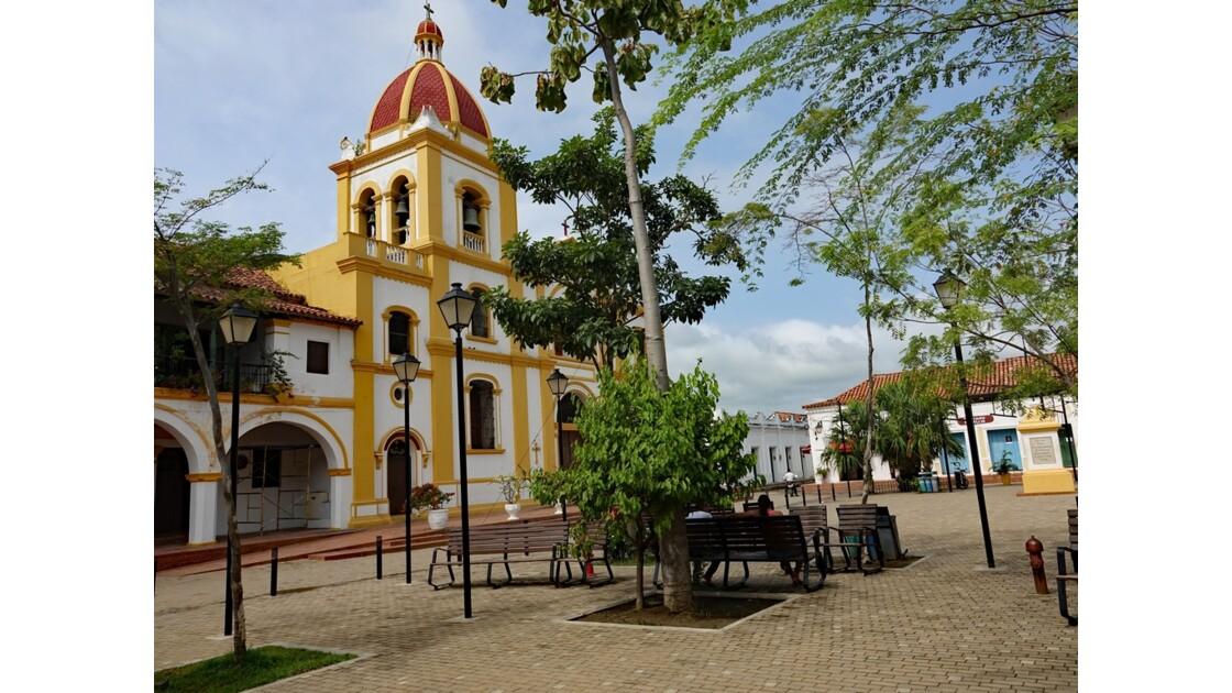 Colombie Mompox Plaza Real de la Conception 2