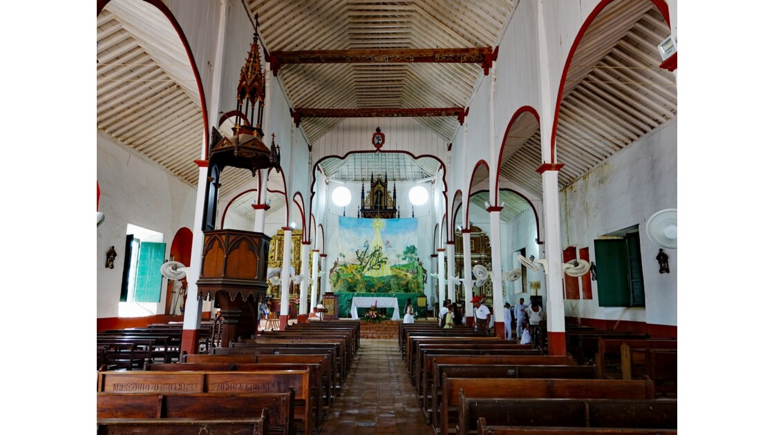 Colombie Mompox Iglesia de San Francisco Le baptème 1