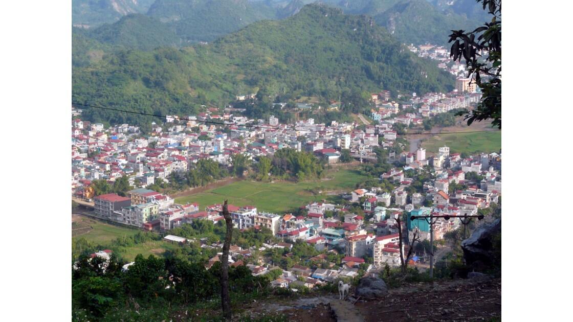 Village encaissé