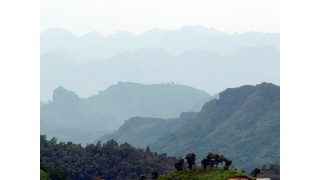 Chaînes de montagnes