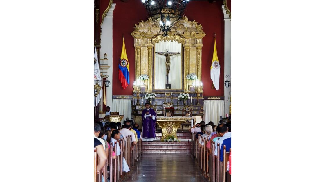 Colombie Mompox Messe à l'Iglesia San Agustin 5