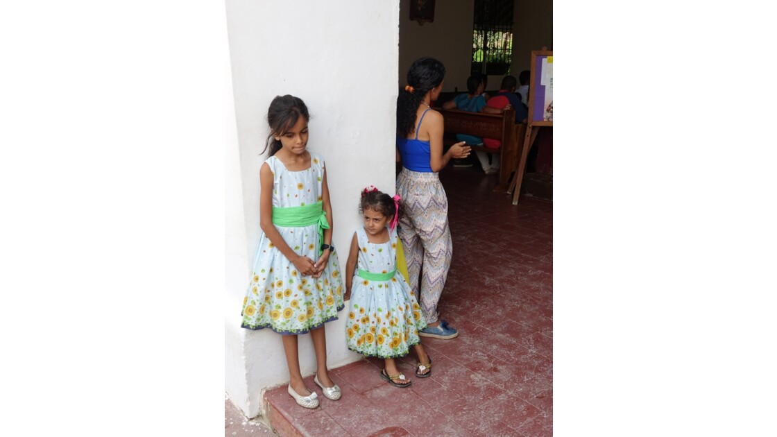 Colombie Mompox Messe à l'Iglesia San Agustin 3