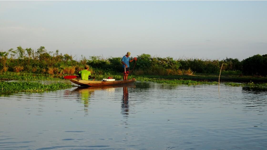 Colombie Mompox Sur la lagune de Pijilos 1