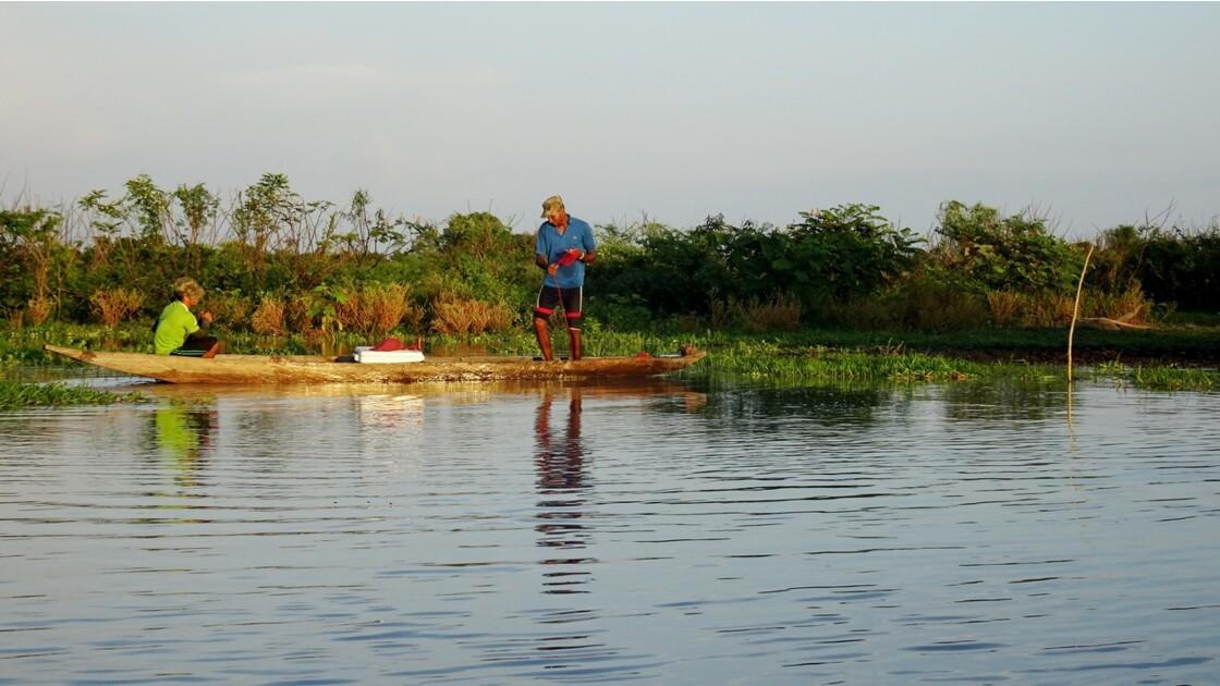 Colombie Mompox Sur la lagune de Pijilos 2