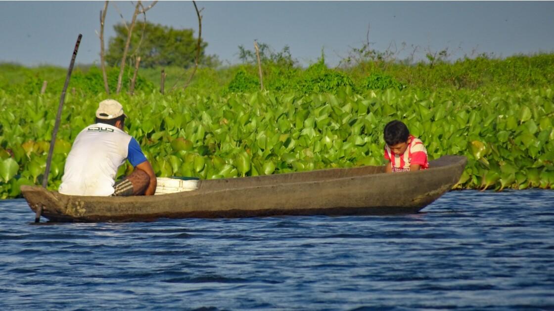 Colombie Mompox Sur la lagune de Pijilos 5