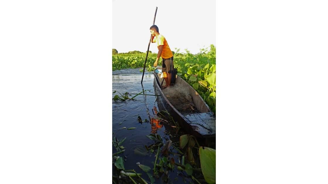 Colombie Mompox Sur la lagune de Pijilos 11
