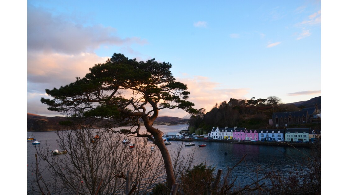 Portree Ile de Skye Ecosse