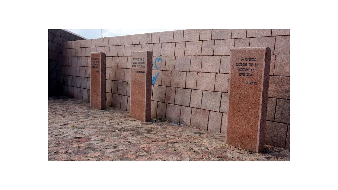 Mémorial sur la Rambla de Montevideo