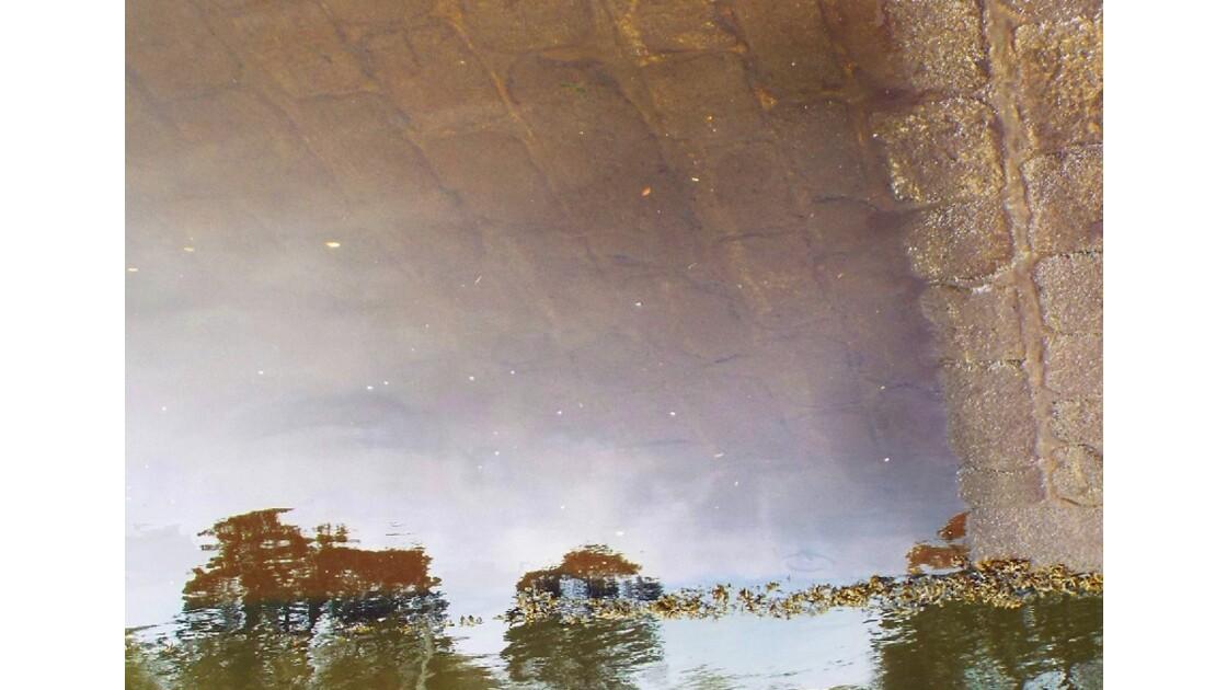 Un village sous l'eau ...