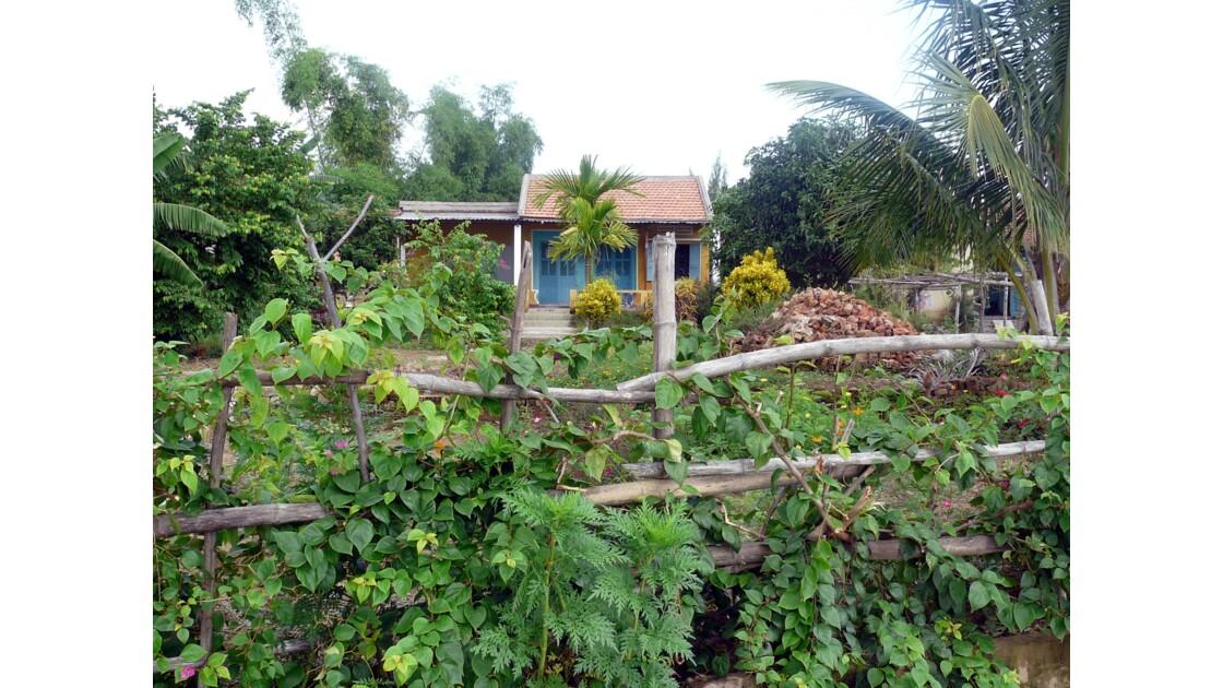 La maisonette et son jardin