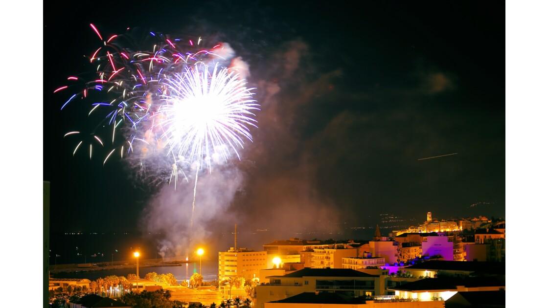 Feu d artifice 14 juillet 2018 Bastia