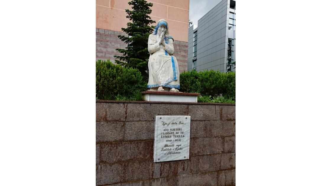 Albanie Tirana Cathédrale Saint-Paul Mère Teresa