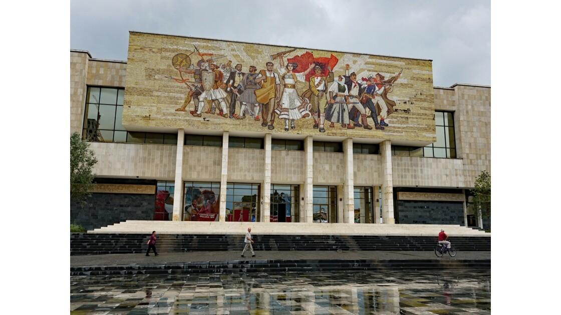 Albanie Tirana Musée d'histoire 1