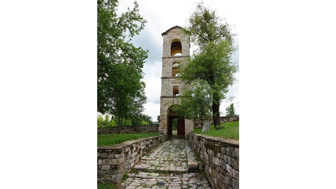 Albanie Moscopole Clocher de la Dormition de la Sainte Vierge 2